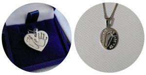 Šperky ze stříbra a zlata