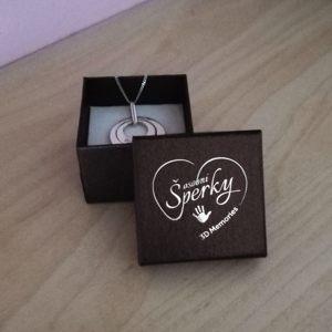 Dárková krabička na osobní šperk