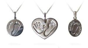 Osobní šperky z otisku - různé tvary