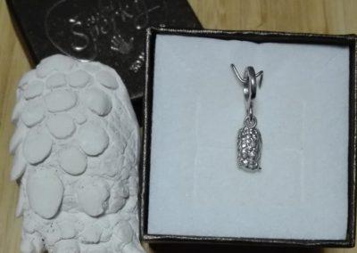 šperk z 3D odlitku želví tlapičky